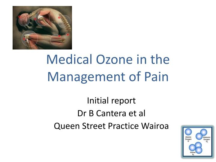 medical ozone in the management of pain n.