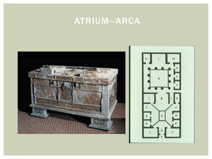 Atrium--Arca