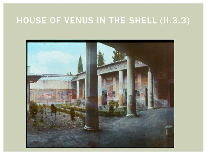 House of Venus in the