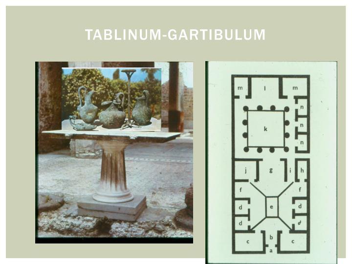 Tablinum-gartibulum