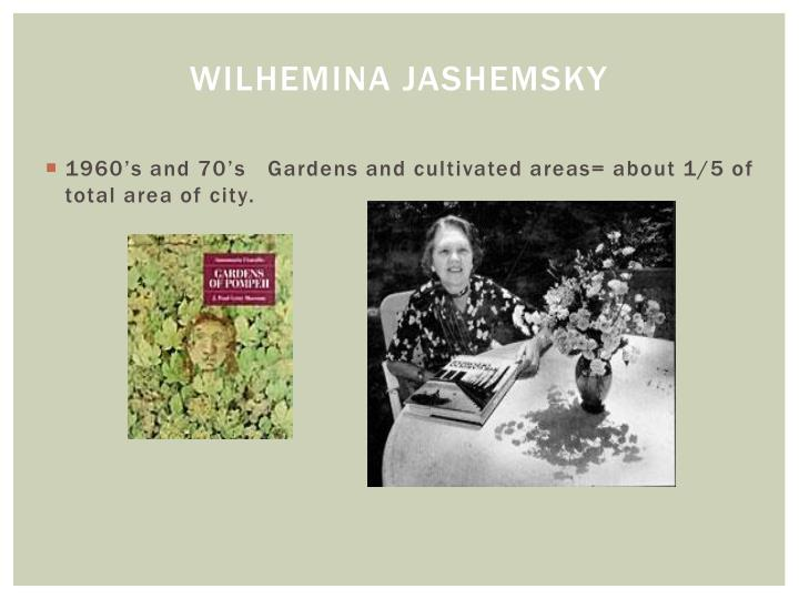 Wilhemina Jashemsky