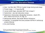 mnt for ulcerative disease