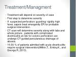 treatment managment