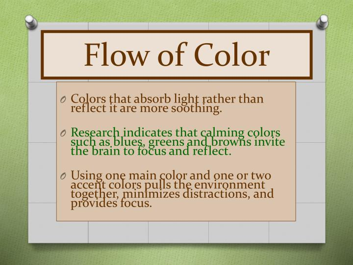 Flow of Color