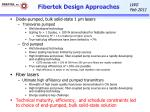 fibertek design approaches