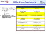 icesat 2 laser requirements