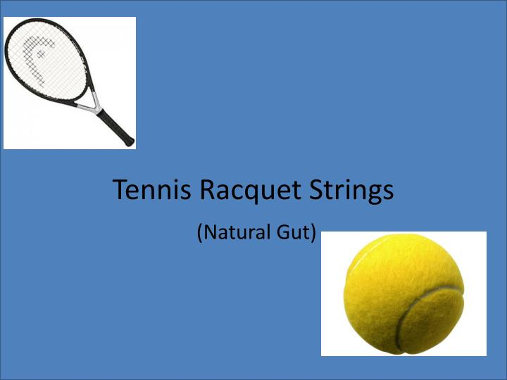 tennis racquet strings n.