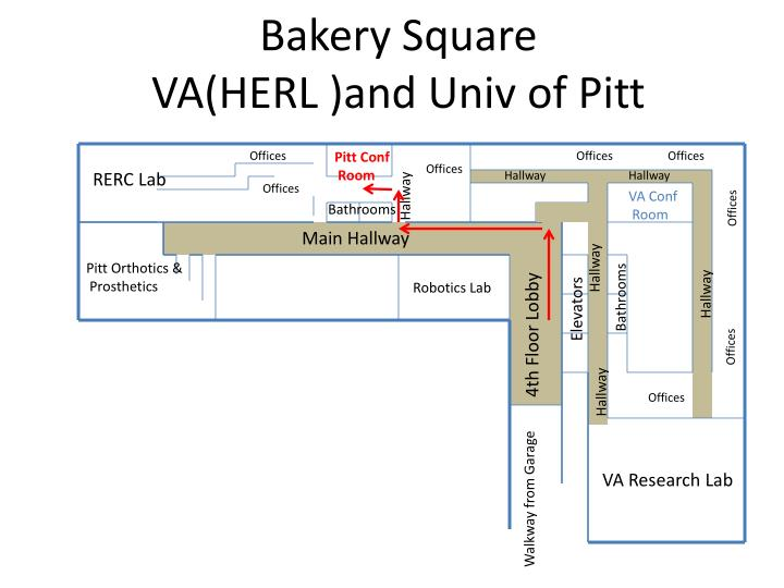 bakery square va herl and univ of pitt n.