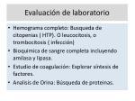 evaluaci n de laboratorio