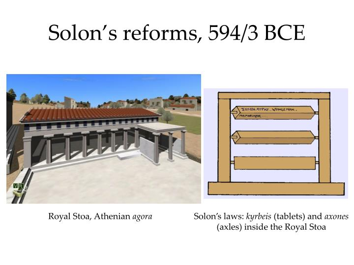 solon conflict in athens