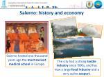 salerno history and economy