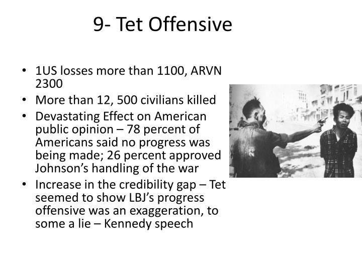 9- Tet Offensive