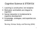 cognitive science stem ed