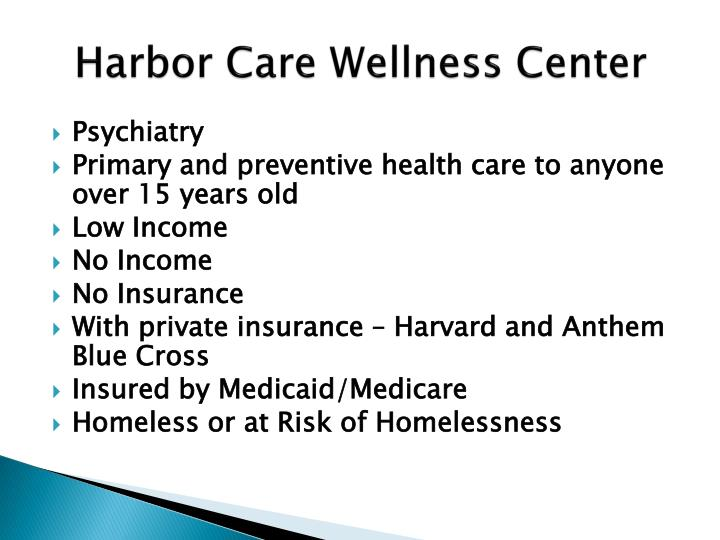 Harbor Care Wellness Center