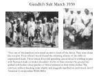 gandhi s salt march 1930