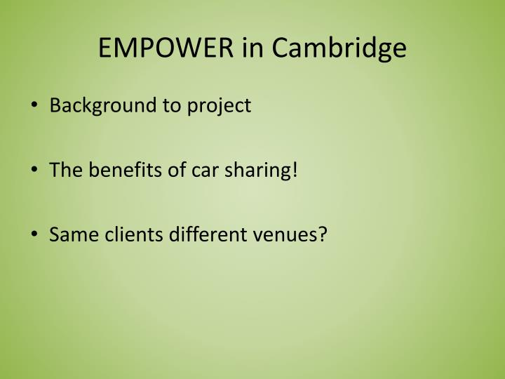 empower in cambridge n.