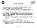rls status