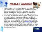 human threats