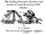 the guiding principles realities and future of cloud resolving nwp models