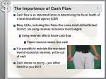 the importance of cash flow
