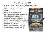 hiv aids std sti an alphabet you need to understand