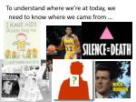 to understand where we re at today we need to know where we came from