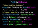 faith in hebrews1