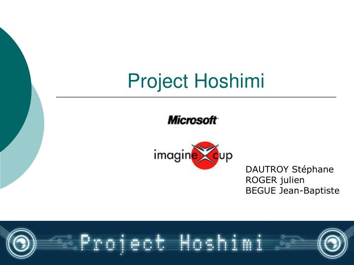 project hoshimi n.