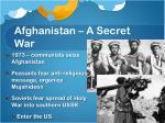 afghanistan a secret war