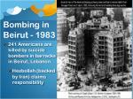 bombing in beirut 1983