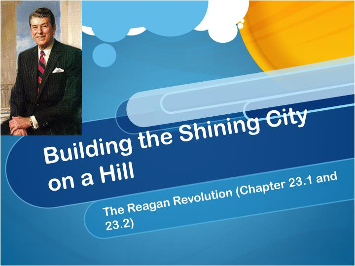 building the shining city on a hill n.