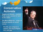 conservative activists