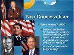 neo conservatism