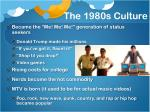 the 1980s culture