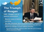 the triumph of reagan