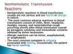 nonhemolytic transfusion reactions