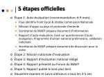 5 tapes officielles