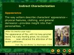 indirect characterization1
