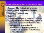 battle of bentonville march 19 21 18651