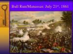 bull run manassas july 21 st 18611