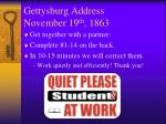 gettysburg address november 19 th 18631
