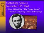 gettysburg address november 19 th 18632