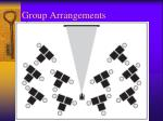 group arrangements