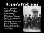 russia s problems