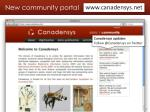 new community portal