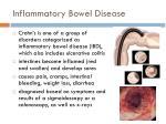 inflammatory bowel disease