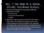 obj 7 the mind of a serial killer childhood history2