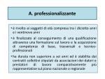 a professionalizzante