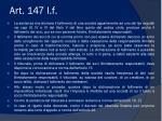 art 147 l f