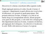 esercizio 7 schema concettuale